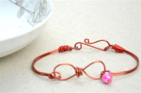 Handmade Infinity Bracelet - infinity wire bracelet 183 how to make a