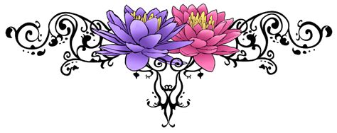 free flower tattoo png transparent images download free