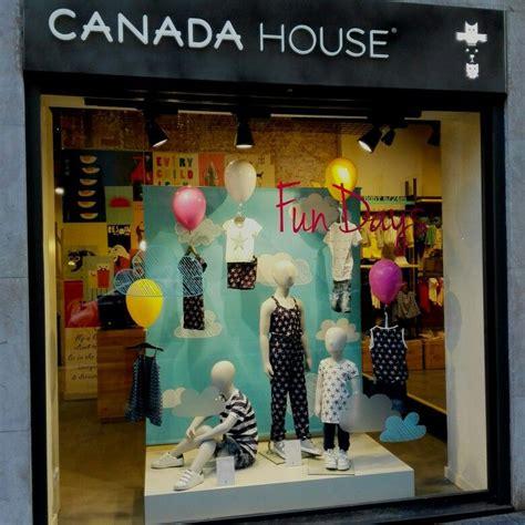 house windows canada canada house window display kids children visual