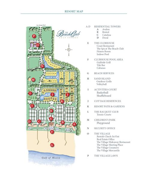 club resort map resort map the club
