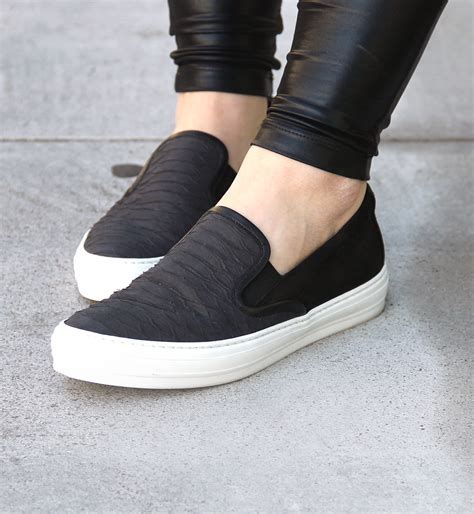 slip on sneakers wear the trend slip on sneakers just add glam