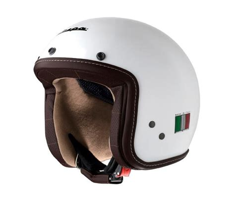 Helm Vespa Cargloss velos motos keller vespa helm quot p xential quot helm vespa p xential bianco weiss glanz
