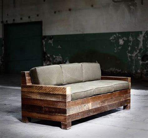 modern wood sofa rustic modern sofa designs mountainmodernlife