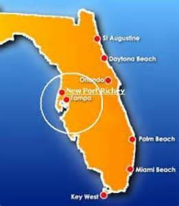 new port richey overview and location information