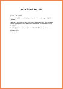 Authorization Letter Sample Format For Claiming Documents 7 sample authorization letter for claiming documents