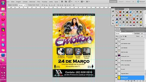 flyer design youtube video demonstra 231 227 o flyer balada emotion the quality
