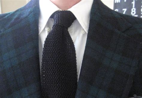 Knit Tie the black knit tie the great neutralizer
