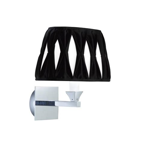 imperial astoria wall light with oval silk shade
