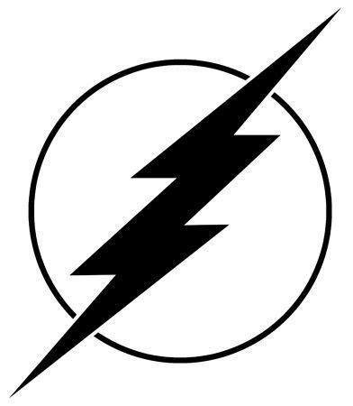 logo tattoo flash the flash flash logo decal super hero logo pinterest