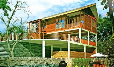 gambar desain rumah kayu modern gambar rumah idaman