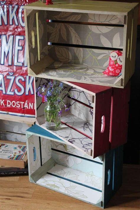 libreria con cassette di legno librerie fai da te per bambini foto mamma pourfemme