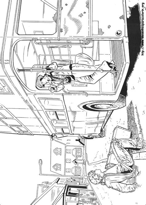 Harry Potter Knight Bus Coloring Pages | harry potter para colorir