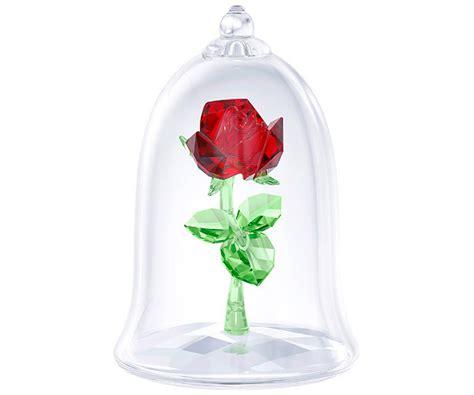 Forever Rose In Glass by Verzauberte Rose Dekorationen Swarovski Online Shop