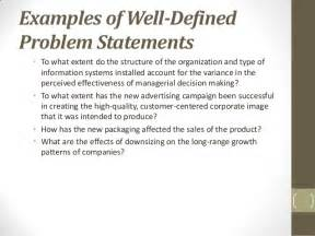 What Is Problem Statement In Thesis Chapter 3 The Research Process The Broad Problem Area And