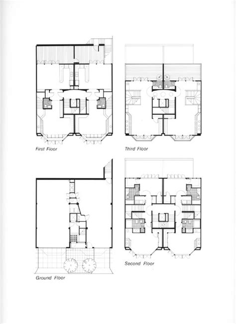 Contemporary Townhouse Plans by Houzz Townhouse Floor Plans Studio Design Gallery