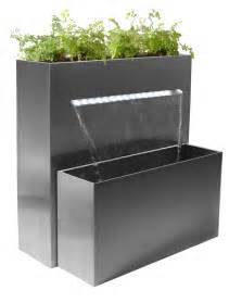 sutherland falls large rectangular planter waterfall cascade with led lights h89cm x w72cm 163 339 99
