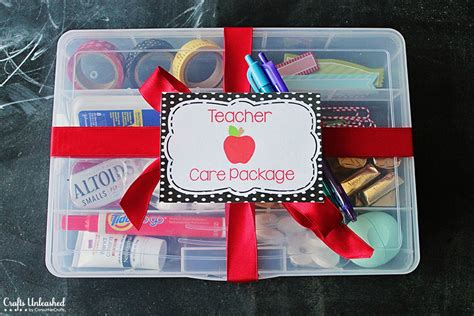 christmas craft ideas for teachers care package ideas back to school gift