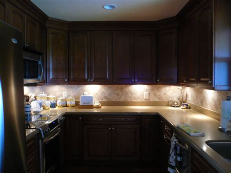 Undercounter Kitchen Lighting Cabinet Lighting Options Designwalls