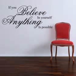 Quote Wall Sticker If You Believe Wall Stickers Quotes By Parkins Interiors