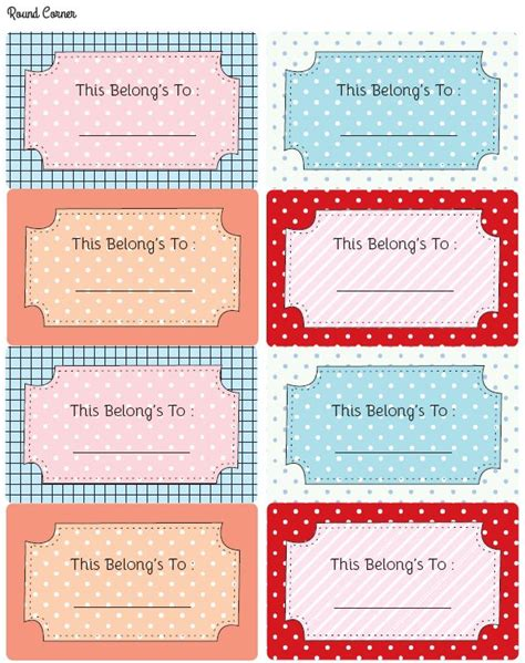 label templates for school books 14 best bookplate labels book label templates images on