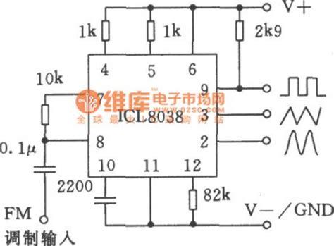 single precision function generator icl8038 application