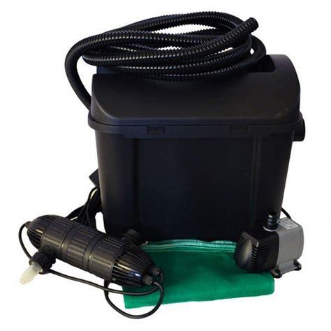 filtri per laghetti da giardino filtro esterno per laghetto con sterilizzatore uvc heissner