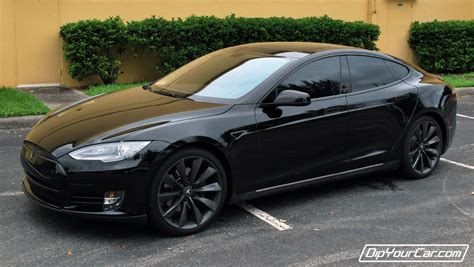 Tesla Model S Blacked Out Tesla Model S Information And Photos Momentcar