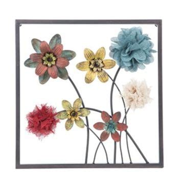 Metal Wall Decor Hobby Lobby by Framed Floral Metal Wall Decor Style 2 From Hobby Lobby