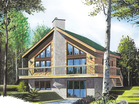 tumbler ridge a frame home plan 032d 0032 house plans