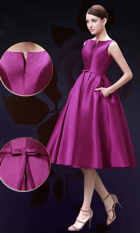 Dress Elegance elegance slash pocket mid length formal dresses ksp357 163