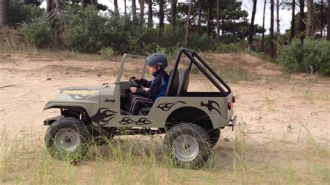 mini jeep mini jeep 4x4 jeepys jugando con toto
