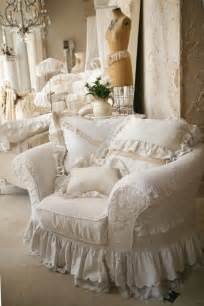 shabby chic slipcovers white slipcover cottage shabby chic