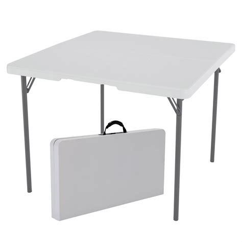 lifetime fold in half table lifetime 37 quot light commercial fold in half card table