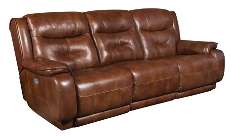 southern motion crescent reclining sofa with power