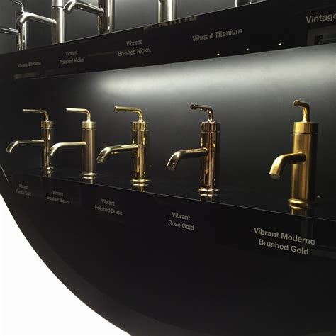 kohler kitchen faucet finishes