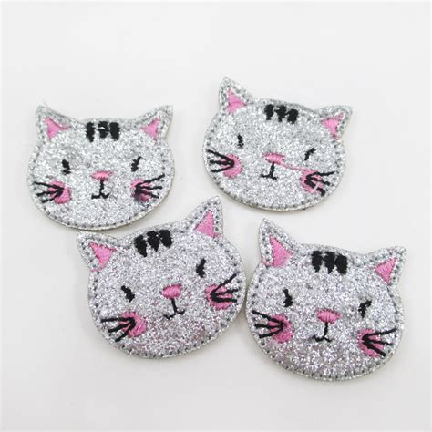 patch applique animal cat owl ᗑ rabbit rabbit embroidery patch clothing