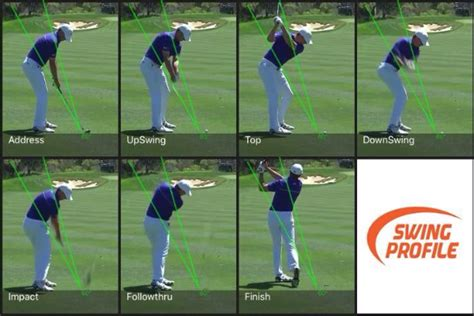 ipad golf swing analysis adam scott swing analysis swing profile
