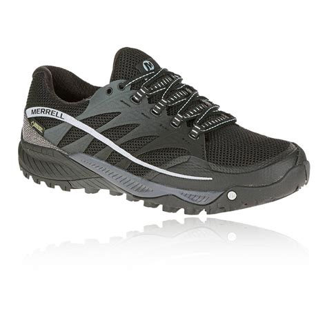 merrell sports shoes merrell all out charge mens black tex waterproof