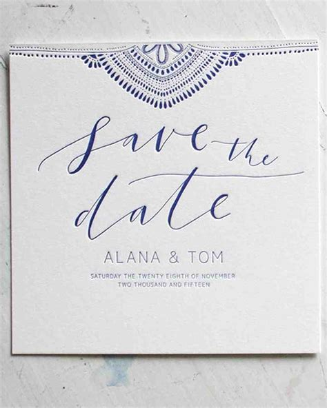 Save The Date Wedding by 32 Destination Wedding Save The Dates Martha Stewart