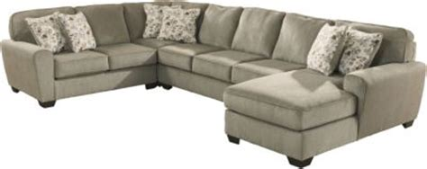 ashley furniture patola park sectional ashley patola park right side chaise 4 piece sectional