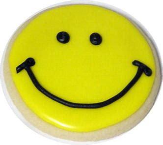 Smile Cookies smiley cookie lou perrine s