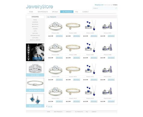 ecomerce templates free ecommerce website template free store
