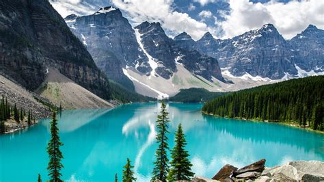 moraine lake banff national park wallpapers hd