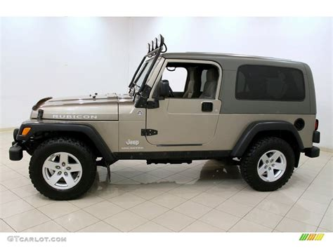 2006 Jeep Unlimited Light Khaki Metallic 2006 Jeep Wrangler Unlimited Rubicon