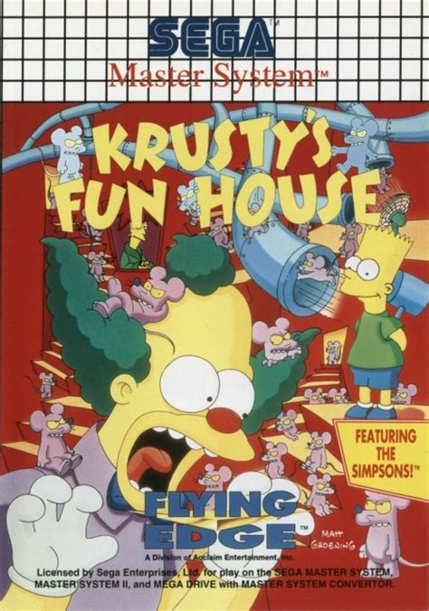 Krusty S House krusty s house sega master system used