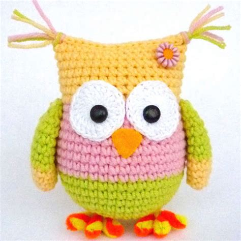 free printable crochet owl pattern weirdly colored amigurumi owl wixxl