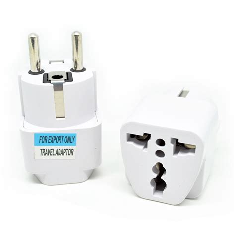 universal eu 2 adapter to 3 pin white jakartanotebook