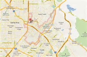 where is tustin california on a map tustin senior living local attractions and map