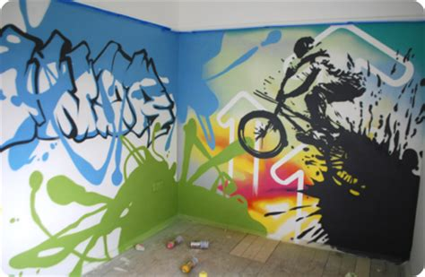 graffiti ideas for bedrooms graffiti bedrooms kids bedroom artwork children s