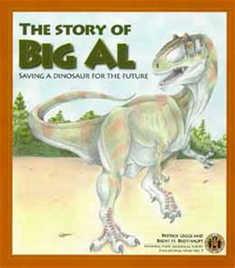 and tell the of narration books book to tell story of big al the allosaurus